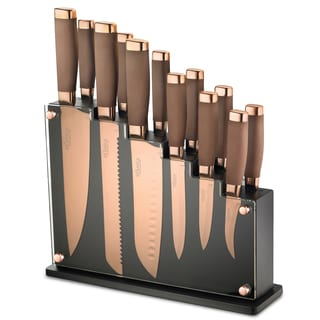 Hampton Forge Forte 13-piece Titanium Block Set