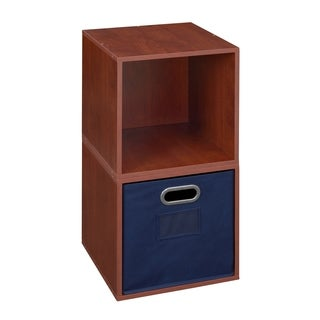 Niche Cubo Set of 2 Storage Cubes with 1 Canvas Bin