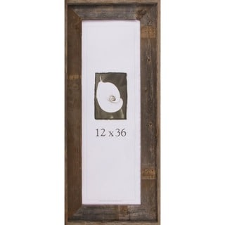 barnwood signature series picture frame 12 x 36