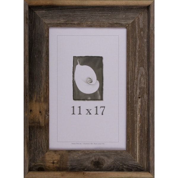Shop Barnwood Signature Series Picture Frame 11 X 17 Free