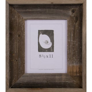Barnwood Signature Series Picture Frame (8.5 x 11)