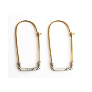 Brass Kitale Earrings