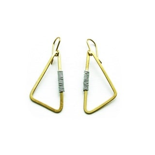 Brass Athi Earrings