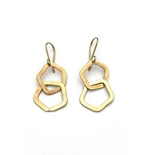 Brass Odundo Earrings