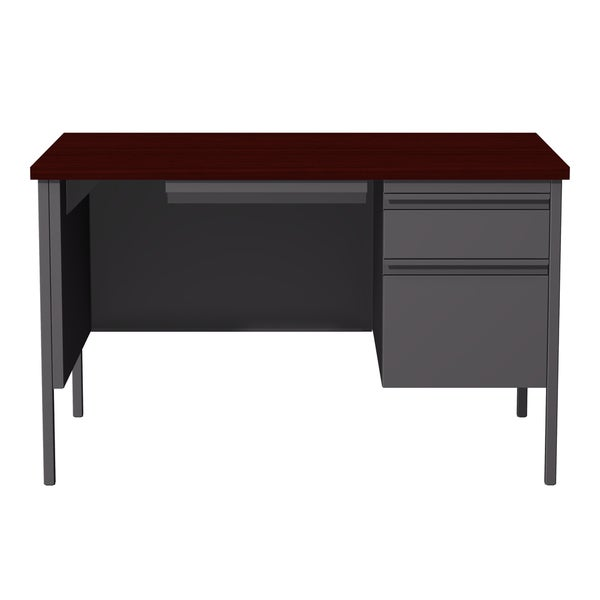 Shop Hirsh 30 X 48 Right Hand Single Pedestal Office Desk