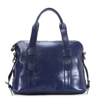 Chasse Wells Genuine Leather Boston Lumiere Du Jour Tote