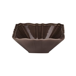 Countryside Moka Square 6-inch Fruit Bowl (Set of 4)