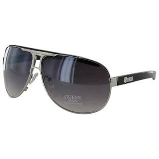 Guess Men GU6591 Aviator Fashion Sunglasses