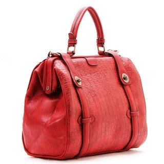 Chacal Taylor Emily Croc Bowling Satchel