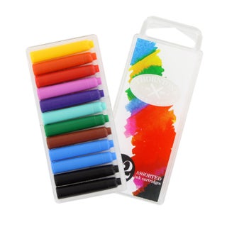 Thornton's Short Standard International Fountain Pen Ink Cartridges (Pack of 12)