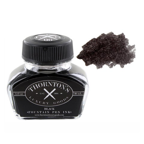 Thornton's Luxury Goods Fountain Pen Ink 30ml Bottle