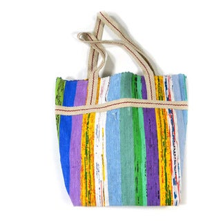 Handmade The Vibrant Upcycled Tote Bag (India)