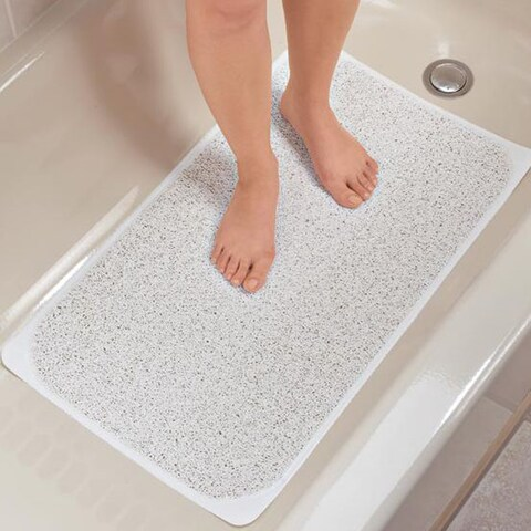 Premium Loofah-Like Non Slip 17 x 29 Bath Mat