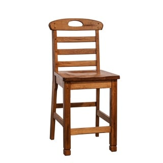 Sunny Designs Sedona 24-inch Ladderback Bar Stool