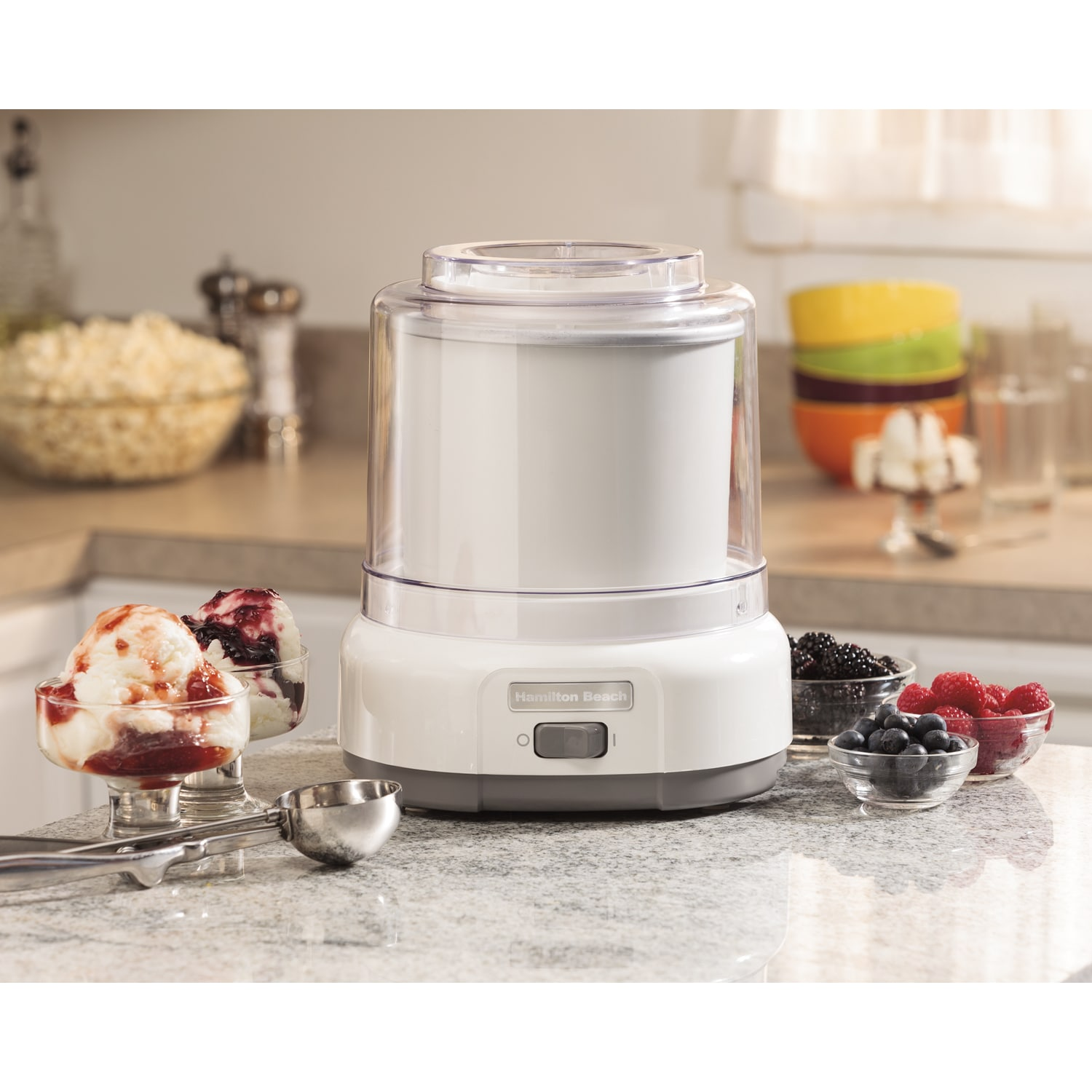 Hamilton Beach 1.5 Quart Ice Cream Maker (1.5 Quart Ice C...
