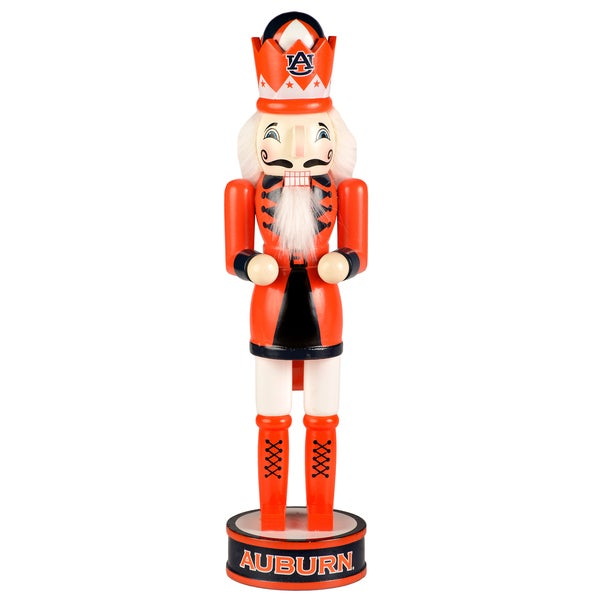 Forever Collectibles Auburn Tigers 14-inch Collectible Nutcracker