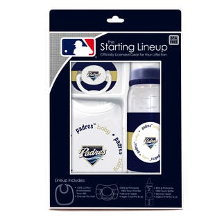 Baby Fanatic MLB San Diego Padres 3-piece Baby Gift Set|https://ak1.ostkcdn.com/images/products/10810596/P17855921.jpg?impolicy=medium