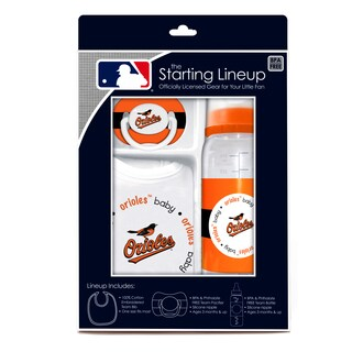 Baby Fanatic Baltimore Orioles 3-piece Baby Gift Set