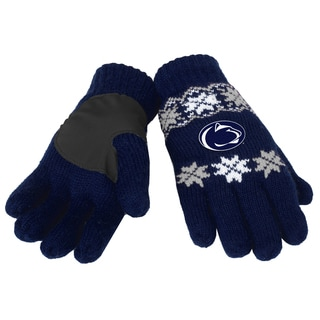 Forever Collectibles Penn State Nittany Lions Lodge Gloves with Padded Palms