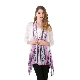 High Secret Women's 2-Piece Top and Cardigan