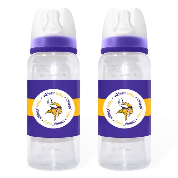 Minnesota Vikings 2-piece Baby Bottle Set
