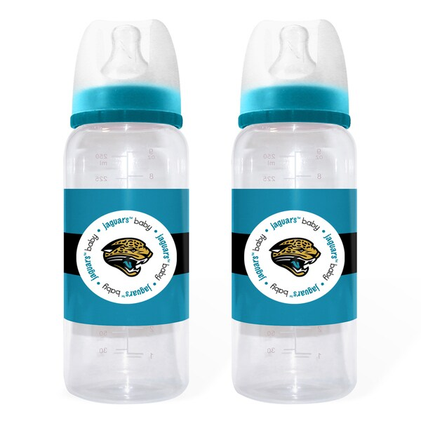 Jacksonville Jaguars 2-piece Baby Bottle Set