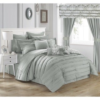 Chic Home Olivier Silver 24-piece Bed in a Bag Set