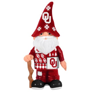 Forever Collectibles Oklahoma Sooners Real Ugly Sweater Gnome