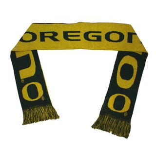 Forever Collectibles Oregon Ducks Split Logo Reversible Scarf