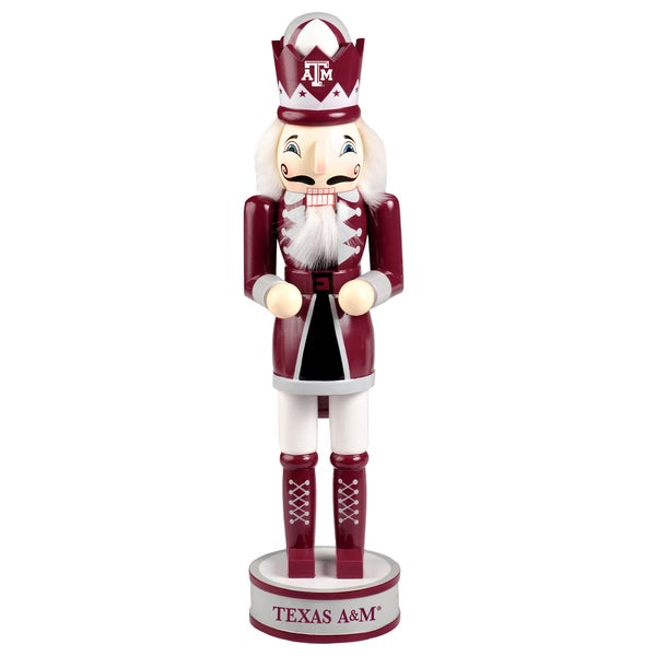 Forever Collectibles Texas AM Aggies 14-inch Collectible Nutcracker
