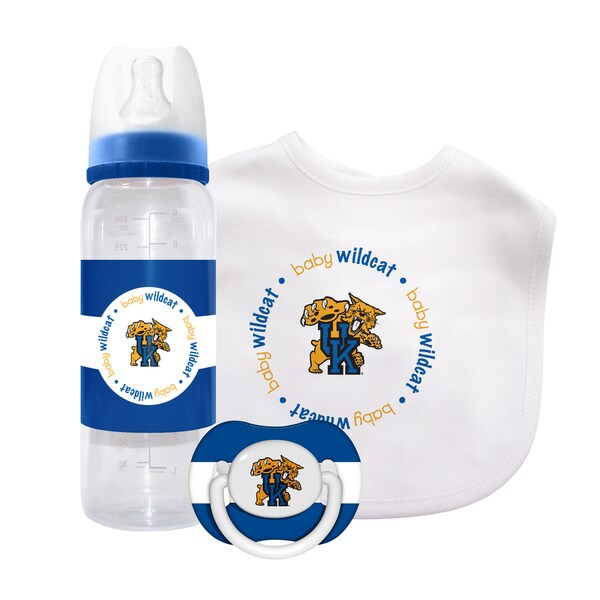 Baby Fanatic Kentucky Wildcats 3-piece Baby Gift Set