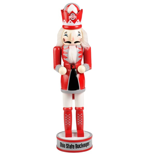 Forever Collectibles Ohio State Buckeyes 14-inch Collectible Nutcracker
