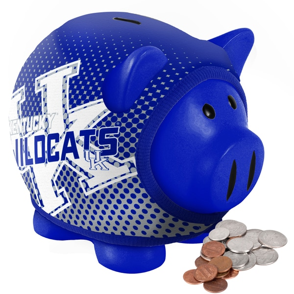 Forever Collectibles Kentucky Wildcats Ugly Sweater Piggy Bank
