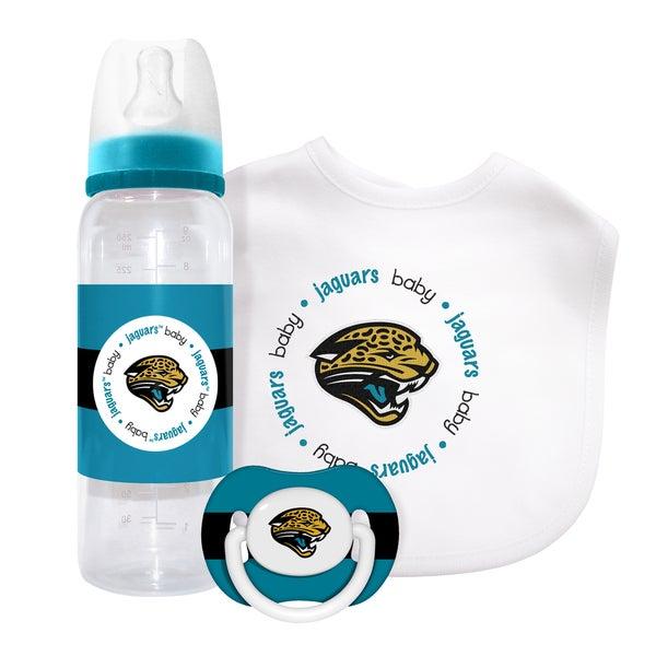 Baby Fanatic Jacksonville Jaguars 3-piece Baby Gift Set
