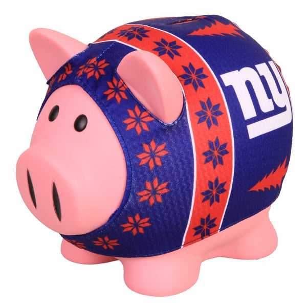 Forever Collectibles New York Giants Ugly Sweater Piggy Bank