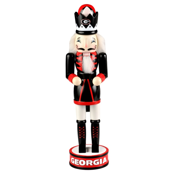 Forever Collectibles Georgia Bulldogs 14-inch Collectible Nutcracker