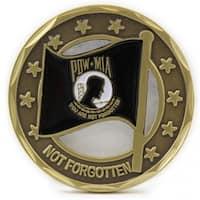 POW MIA Flag Coin
