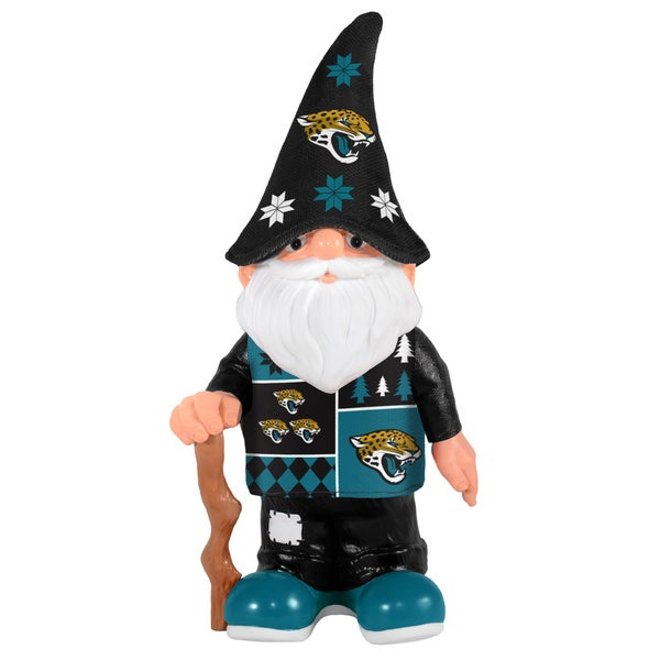 Forever Collectibles Jacksonville Jaguars Real Ugly Sweater Gnome