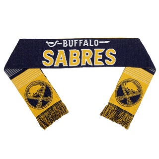Forever Collectibles Buffalo Sabres Split Logo Reversible Scarf