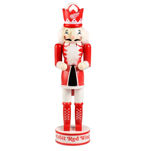 Forever Collectibles Detroit Red Wings 14-inch Collectible Nutcracker