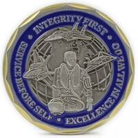 St. Christopher Protect Us Airman Coin