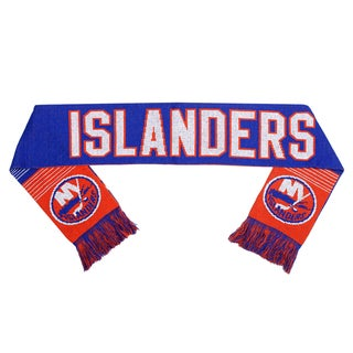 Forever Collectibles New York Islanders Split Logo Reversible Scarf