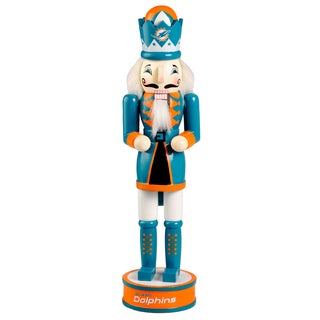 Forever Collectibles Miami Dolphins 14-inch Collectible Nutcracker