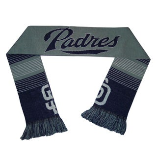 Forever Collectibles San Diego Padres Split Logo Reversible Scarf