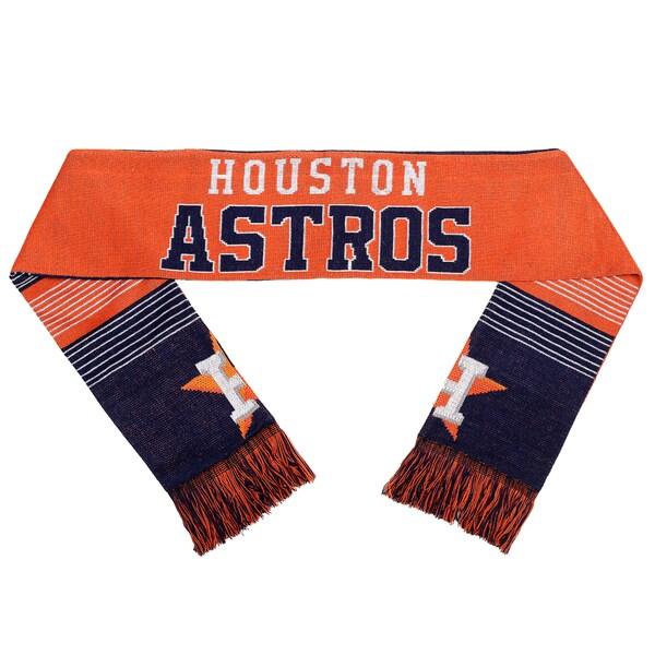 Forever Collectibles Houston Astros Split Logo Reversible Scarf