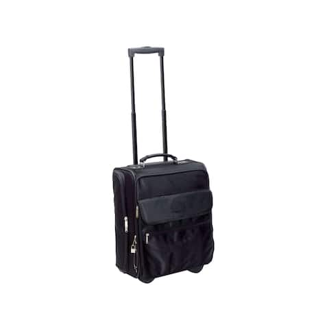 """Goodhope 13-inch Rolling Carry On Tote with 15-inch Laptop Compartment - 13.5"""" x 17.5"""" x 9"""""""