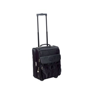Goodhope 13-inch Rolling Carry On Tote with 15-inch Laptop Compartment