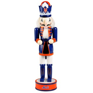 Forever Collectibles New York Mets 14-inch Collectible Nutcracker