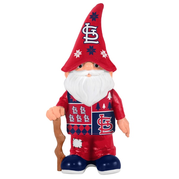 Forever Collectibles St. Louis Cardinals Real Ugly Sweater Gnome
