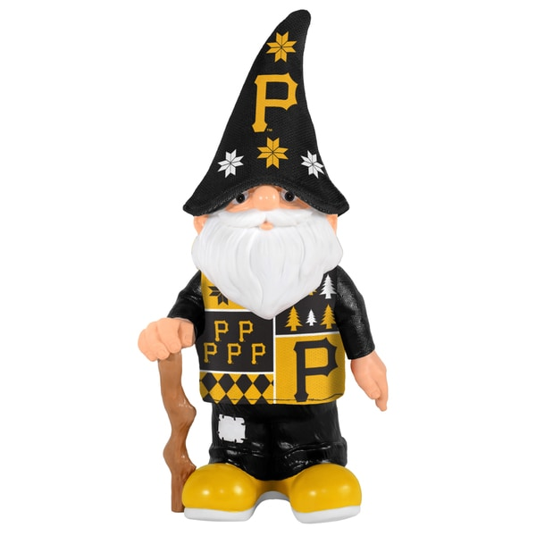 Forever Collectibles Pittsburgh Pirates Real Ugly Sweater Gnome